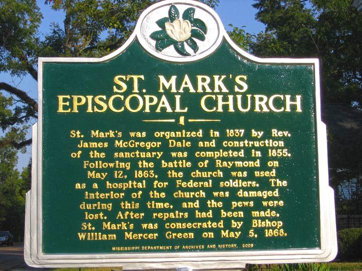 Saint Mark's Episcopal Church - Raymond, Mississippi
